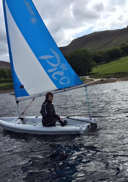 Dovestone Sailing Club Laser Pico